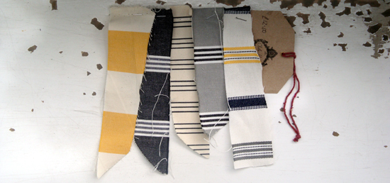 Chairs fabric palette