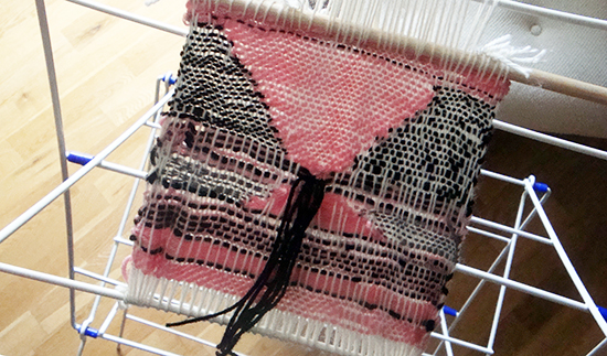 Weaving almost finished