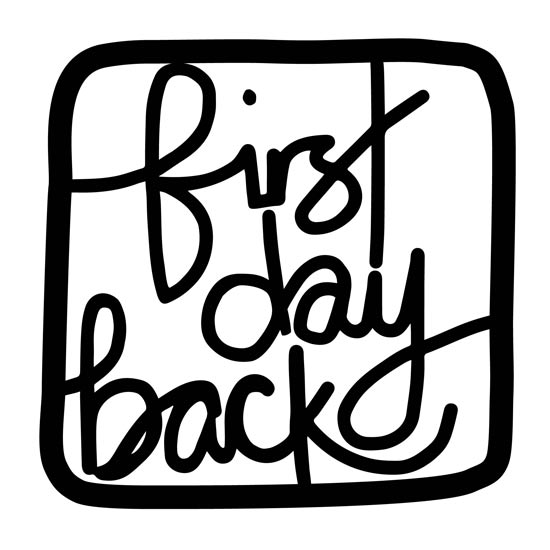 First Day Back podcast logo