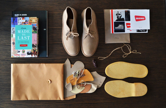 Clarks Rebooted Inspiration Box