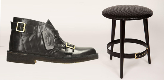 Lee Broom for Clarks Rebooted