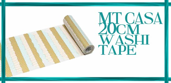 MT CASA 20cm washi tape
