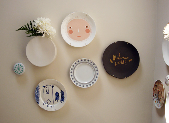 wall mounted plate project | socialnesting.com