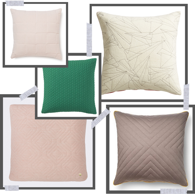 the five best quilted cushions for autumn 2015