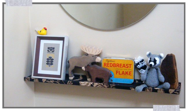 Ikea RIBBA shelf project